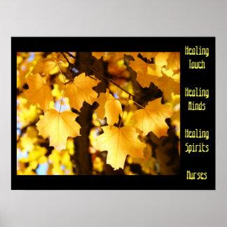 Nurses Posters Healing Touch Minds Spirits Healing
