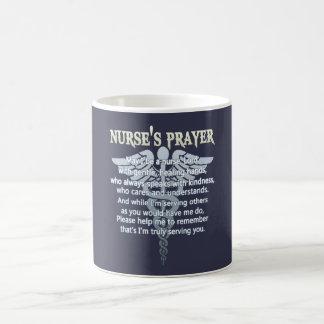 NURSE'S PRAYER COFFEE MUG