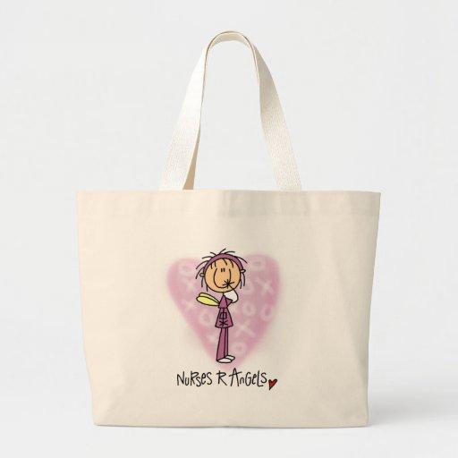 Nurses R Angels Tshirts and Gifts Canvas Bag