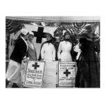 Nurses Recruiting Station World War One Postcard