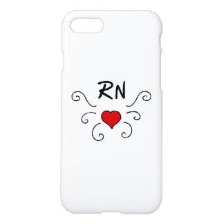 Nurses RN Love Tattoo iPhone 8/7 Case