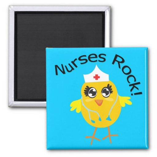Nurses Rock Magnets
