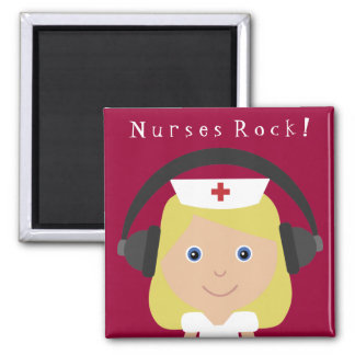 Nurses Rock! Magnet