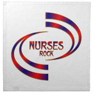 Nurses Rock Napkin