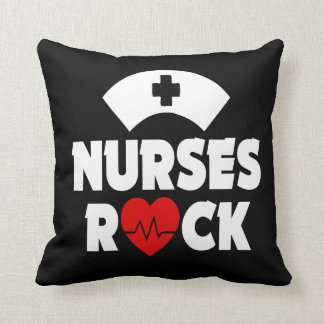 Nurses Rock Pillow