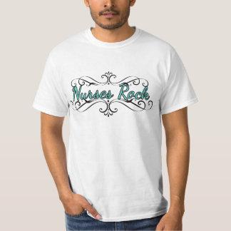 Nurses Rock (white) T-Shirt
