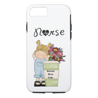 Nurses Serving With Care iPhone 8/7 Case