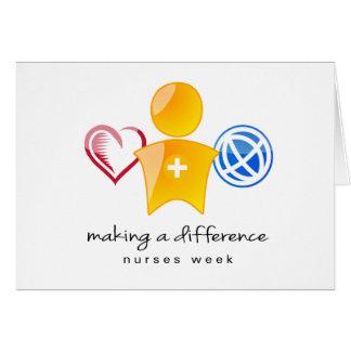 Nurses Week Notecard