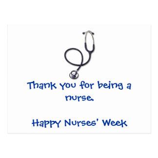 Nurses' Week postcard