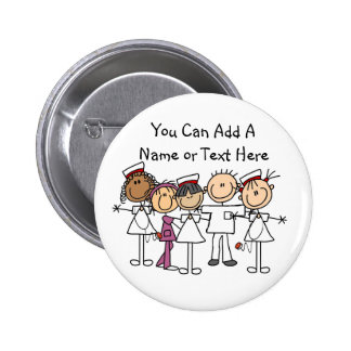 Nurses Week T-shirts and Gifts 6 Cm Round Badge