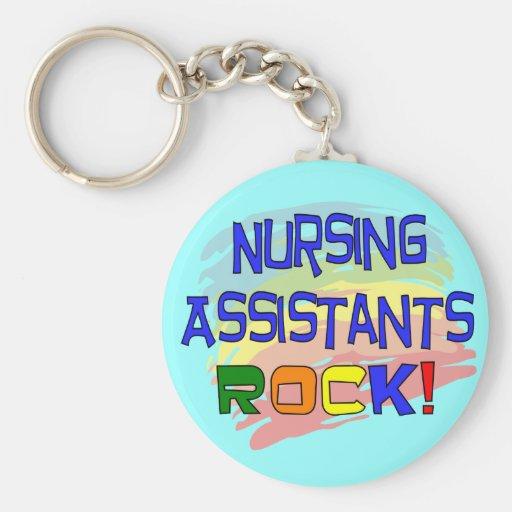 Nursing Assistants ROCK Key Chains