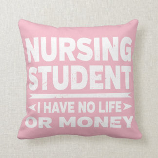 Nursing College Student No Life or Money Cushion