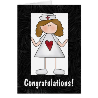Nursing Congratulations Personalized Card