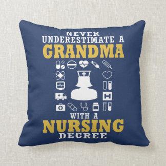 Nursing Grandma Cushion