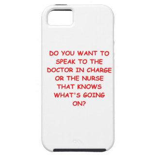 nursing joke iPhone 5 case