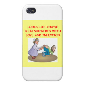 nursing joke case for iPhone 4