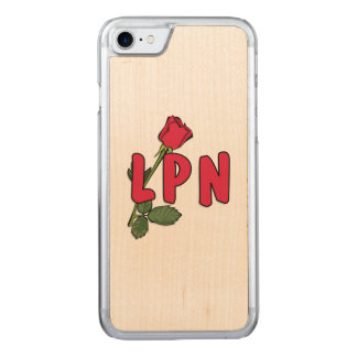 Nursing LPN Rose Carved iPhone 8/7 Case