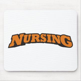 Nursing (Orange) Mouse Pad