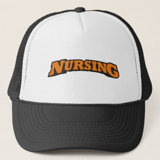Nursing (Orange) Trucker Hat