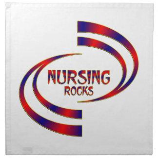 Nursing Rocks Napkin