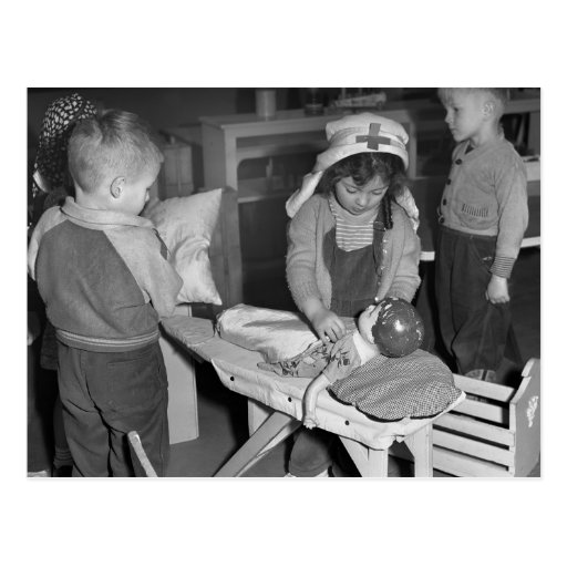 Nursing School: 1940s Post Card