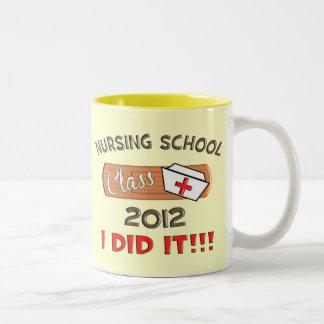 Nursing School 2012 Graduation Two-Tone Mug