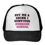 Nursing School Buy Me A Drink Cap