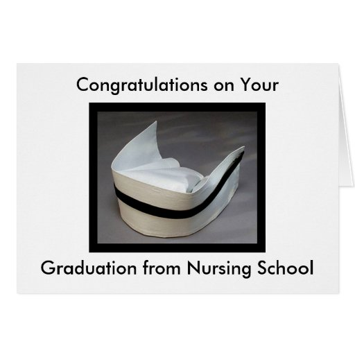 Nursing School Graduation Greeting Cards