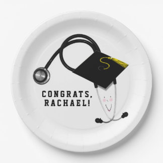 Nursing School Graduation Paper Plate