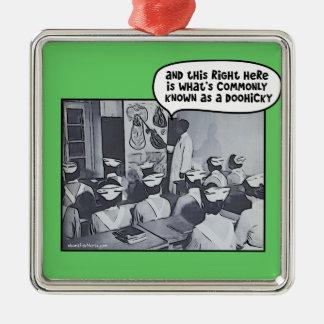 Nursing School Instructor - Doohicky Metal Ornament