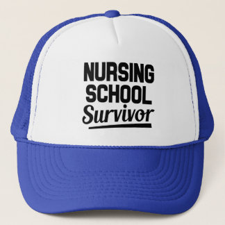 Nursing school survivor hat