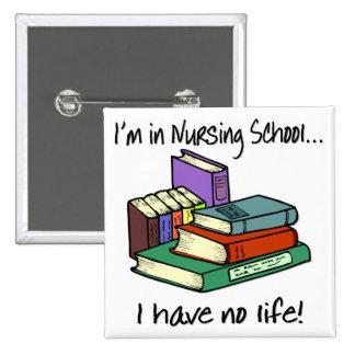 Nursing Student 15 Cm Square Badge