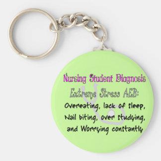 Nursing Student Dx: T-Shirts & Gifts Hilarious! Key Ring