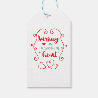 Nursing Work Gift Tags