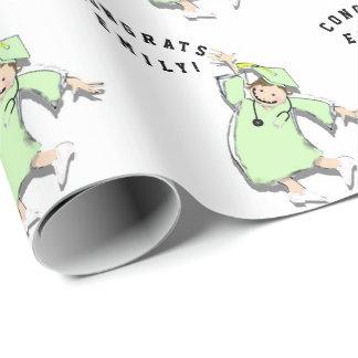 Nursing Wrapping Paper