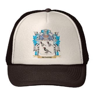 Nusche Coat of Arms - Family Crest Trucker Hats