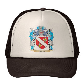 Nuss Coat of Arms - Family Crest Hats