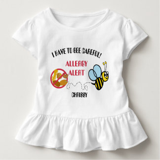 Nut Allergy Alert Bumble Bee Shirt