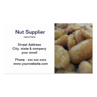 Nut Supplier Business Card