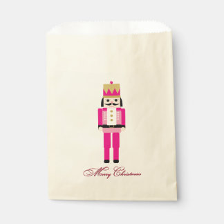 Nutckracker Christmas Favour Bag