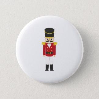 Nutcracker 6 Cm Round Badge