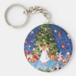 Nutcracker and The Tree Keychains