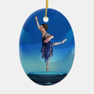 Nutcracker Ballerina Christmas Ornament