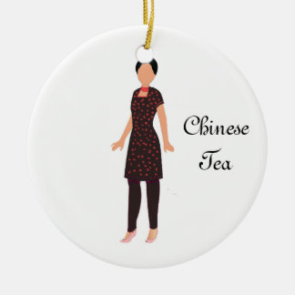 Nutcracker Chinese Tea Keepsake Ornament