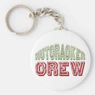 Nutcracker Dance Crew Design for Christmas Basic Round Button Key Ring