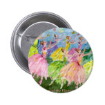 Nutcracker Dance of the Flowers 6 Cm Round Badge
