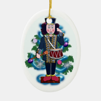 nutcracker drummer boy ceramic ornament