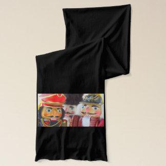 Nutcracker figures scarf