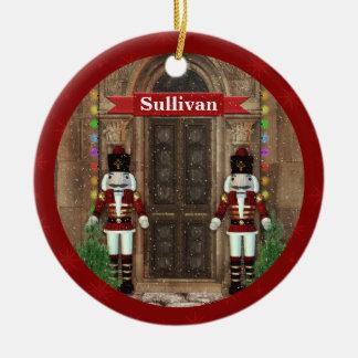 Nutcracker First Christmas Home Custom Ornament