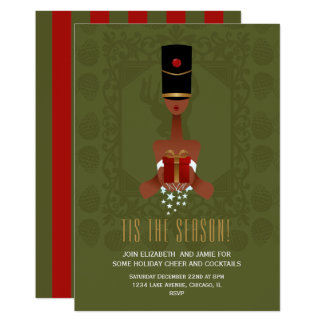 Nutcracker Gift Christmas Holiday Party Invitation